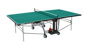 Всепогодный теннисный стол Donic Outdoor Roller 800 зеленый
