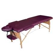 Складной массажный стол DFC Nirvana Relax сливовый