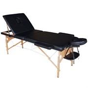 Складной массажный стол DFC Nirvana Relax Pro черный