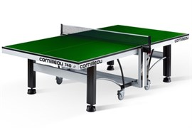 Теннисный стол профессиональный Cornilleau COMPETITION 740 ITTF зеленый